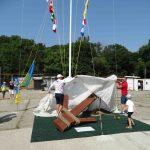 У Чорноморському яхт-клубі відкрили новий Арт-об'єкт та встановили сигнальну щоглу